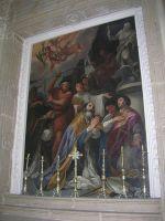 10- Il Martirio di San Felice [di Thibiuca], dipinto di Carlo Maratta nella Cattedrale di Sant'Andrea, Venosa (PZ), .