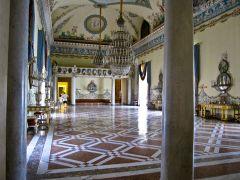 145 - Napoli -Museo di capodimonte- Appartamento reale - Il salone da ballo