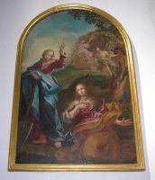 11 - Cristo e la Maddalena-, dipinto di Nicola Marangelli nella Cattedrale di Sant'Andrea, Venosa (PZ)