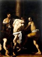 152 - Napoli -Museo di capodimonte - Caravaggio- Flagellazione di Cristo, La Flagellazione di Cristo è custodita al secondo piano del Museo di Capodimonte, nella Galleria Napoletana, dove questa ed altre opere raccontano la storia delle arti figurative a Napoli.