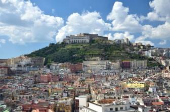166 - Napoli- Panorama- Castel Sant'Elmo- Certosa - Vomero-