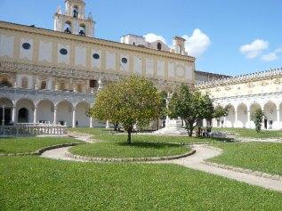 178 - Napoli- Certosa e Museo di San Martino- Chiostro della certosa