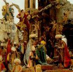 185 -Napoli- Particolare del presepe di Cuciniello.