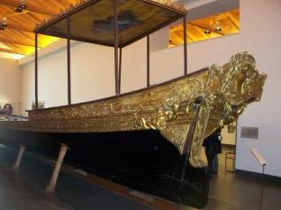 190 - Certosa di San Martino e Museo dell'Opera, barca reale