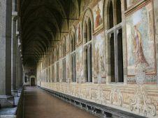 17 -Napoli. Monastero Santa Chiara. arte