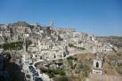 9 - La città bianca-Matera-Panorama- i Sassi di Matera sono stati accolti nel Patrimonio dell'Umanità dell'Unesco con la definizione di paesaggio culturale.