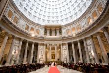 32 - Napoli, interno Chiesa Di San Francesco Di Paola in Piazza Plebiscito.