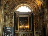 57 -Napoli -Interno-Monte-Pietà -Interno della cappella con la Deposizione del Santafede
