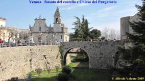 43 - Venosa-fossato-del-castello e Chiesa San Filippo Neri del-purgatorio