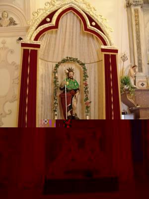 49- Venosa- Chiesa di San Rocco interno