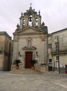 6 -Montescaglioso- Chiesa di San Rocco, sita in Piazza Roma