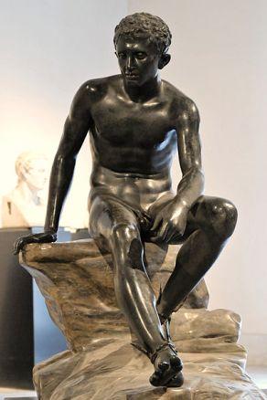 91 -Villa dei Papiri Hermes in riposo