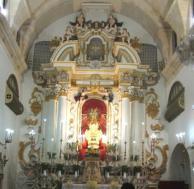 8- Chiesa del convento della SS. ConcezioneCapitello sulla facciata SS. Concezione aula ed altare maggiore Epigrafe per l'erezione dell'altare Chiesa-stemma della comunità