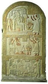 96 - Stele egizia del Museo di Napoli