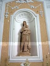13 - Irsina - La Cattedrale di Irsina - Interno. Statua della Madonna col Bambino del Pizolo