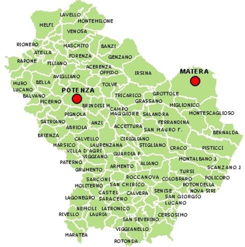 Cartina-Basilicata