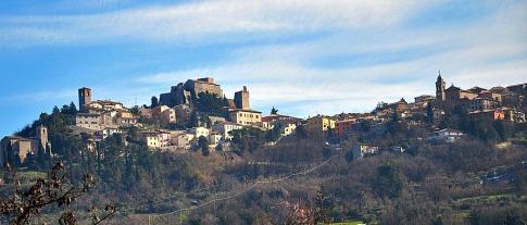 1 - A 18 km da Rimini -Verucchio - panorama