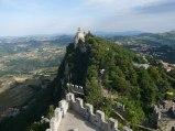 12 - San Marino -La seconda Torre Cesta, vista dalla prima Torre