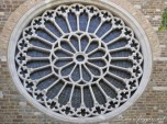 15,1 - Trieste. Rosone della cattedrale di San Giusto