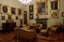 50 -Trieste-villa Sartorio interno-sala-ritratti