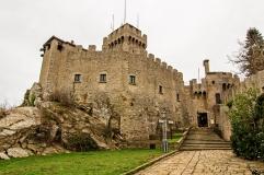 17 - San Marino - fortificazioni della seconda Torre Cesta