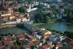 2 - Ponte Tiberio, borgo San Giuliano e centro storico, Rimini
