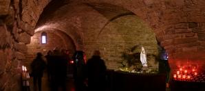 26 - San Leo -La pieve di Santa Maria Assunta. Interno. Cripta