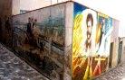 28 - Saludecio - grazie ai tanti dipinti, è il primo paese dell'Emilia Romagna che è entrato a far parte di Assipad, l'associazione italiana che mette in rete il patrimonio pittorico realizzato nei muri