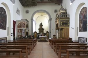 41 - Rimini. Interno Santuario di Santa Maria delle Grazie
