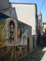 33 -Saludecio - Murales nella via del borgo