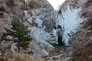 100 - - La cascata di val Rosandra, tappa eccezionale del turismo