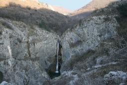 97 - Val Rosandra-cascata Bagnoli della Rosandra è il punto di partenza per le escursioni nella Val Rosandra,