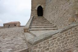 46 - San Leo.entrata della rocca