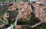 17 - Panorama, centro storico di Santarcangelo di Romagna, ,