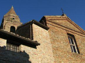11 -Mondaino. Chiesa del convento delle Clarisse