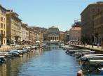 62 -Trieste Borgo Teresiano - Il Canal Grande di Trieste è un canale navigabile che si trova nel cuore del Borgo Teresiano, in pieno centro città,