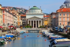 64 - Trieste Borgo Teresiano -Canal-Grande