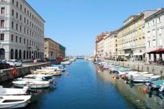 65- Trieste- Il Canal Grande verso il mare