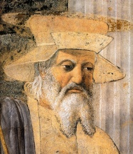 10 - Tempio Malatestiano -.Piero,_Sigismondo_Pandolfo_Malatesta_before_Saint_Sigismund_03