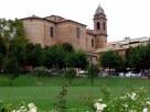 7 - Chiesa Collegiata (dedicata alla Beata Vergine del Rosario) Edificata su progetto dell'architetto riminese Giovan Francesco Buonamici. Era retta da un collegio di canonici, da cui il nome Collegiata. Nel 1937 la torre campanaria di sinistra venne completata con una cupola. 1744 - 1756