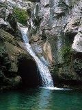 101 - La forza del torrente Rosandra, uno dei rari corsi di acqua superficiali del Carso