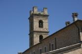 8 - Saludecio - Torre civica - è l'opera più significativa del periodo medievale. Domina il profilo di Saludecio e sulla sua facciata è murato lo stemma del paese.