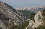 106 - -Trieste-vista dalla vicina val Rosandra-