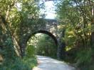 91 - Percorso ciclabile lungo l'ex ferrovia della Val Rosandra, in provincia di Trieste
