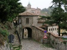 3,3 - Verucchio, scorcio del borgo