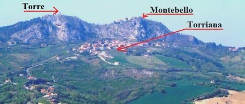 1 - Valle del Marecchia. Torriana-Montebello- A 20 km da Rimini