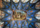 151 - Pesaro. Villa-Imperiale. Camera dei semibusti. Soffitto con Francesco.Maria.Della Rovere che conduce le sue truppe, Dosso. Dossi.