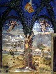 153 - Pesaro. Villa-Imperiale.interno particolare ravvicinato