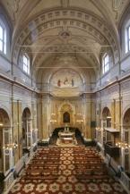 16 - San Giovanni in Marignano, chiesa San Pietro vista-laterale- Interno