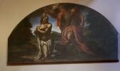 18 -San Giovanni in Marignano. Parrocchia San Pietro - dettaglio dello sfondo